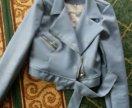Голубая курточка