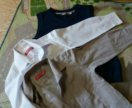 Жилет и 2 рубашки для школьника 122-128 см