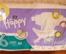 Памперсы Хеппи 6 (16+ кг)