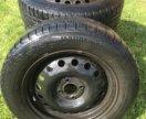 Диски с зимней резиной Continental R15 185X65