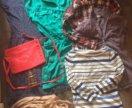 24 шт пакет + подарки, одежда на девушку