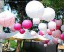 Бумажные шары для декора