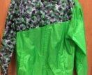 Лёгкая ветровка (дождевик)и штаны новые