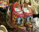 Сувенир кломпы башмачки деревянные обувь