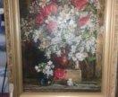 """Картина """"цветы""""Смолин"""
