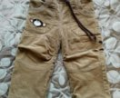Утепленные брюки (86-92) для мальчика