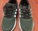 Новые кроссовки Adidas зеленые