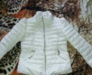Белая куртка деми