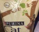 Cat chow утка 15 кг