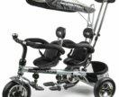 Велосипед для двойни