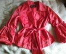 Куртка-укороченый плащ 44 жен