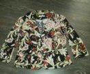 Пиджак с платьем 52 размер