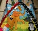 Музыкальный развивающий коврик с дугами