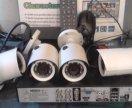 4-канальное AHD видеонаблюдение (комплект)
