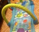 Развивающии коврик-тонель