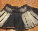 Джинсвовая юбка