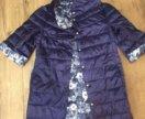 Куртка пальто двухсторонняя 42