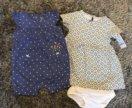 Песочник, платье и трусики Carter's