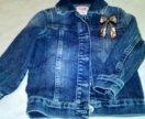 Джинсовая курточка для девочки