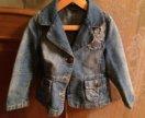 Джинсовая куртка на девочку рост 116