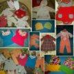 Одежда на девочку 1 год (80-92) пакетами