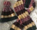 Шапка и шарф 54 размер