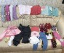 Пакет вещей на девочку от 9мес до 1,5лет