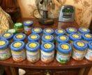 Овощное и мясное пюре 22 банки бабушкино лукошко