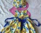 Платье с панамкой