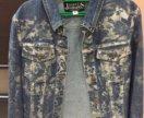 Крутая итальянская (оригинал) джинсовая куртка