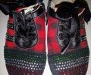 Ботиночки со стразами