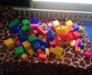 Кубики 70 штук разных