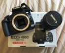 Зеркальный фотоаппарат Canon EOS 400D+объектив