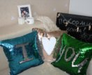 Новый чехол на подушку / подушка
