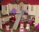 Большой дом со светом silvanian family