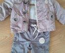 Детская ветровка р.80 и штаны