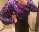 Блузка винтажная