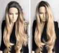 Парик на сетке, волнистые длинные волосы
