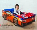Детская кровать-машина Ламборджини (30)