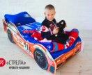 Детская кровать-машина Стрела (30)