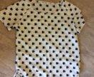 Винтажная блузка с енотами
