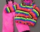 Зимний комплект(куртка+полукомбинезон)
