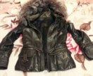 Куртка кожаная весна-осень