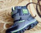 Ботинки зимние новые 27
