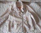 Куртка Zara р.140 кожзам
