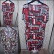Платье+блузка р.54-56
