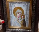 Вышивка икон и картин бисером