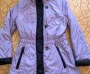 Удлиннённая демисезонная куртка (пальто)