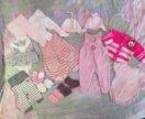Пакет детских вещей на 56-62 см