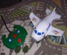 Самолет на радиоуправлении со звуковыми эффектами